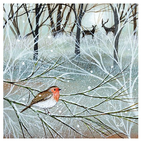 Buy museums and galleries winter woodland charity christmas cards buy museums and galleries winter woodland charity christmas cards pack of 8 online at johnlewis m4hsunfo