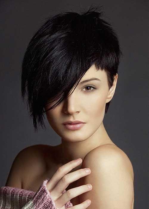 Schöne Pixie Cut Auf Rundem Gesicht Frisuren Pinterest