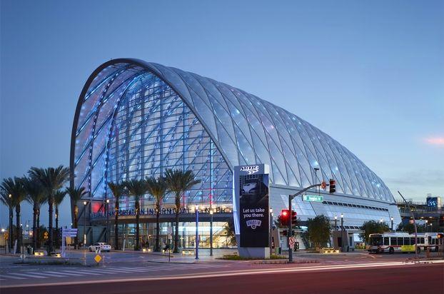 Anaheim Regional Transportation Intermodal Center (ARTIC) by HOK, photo © John Linden. #wanawards #architecture #transport