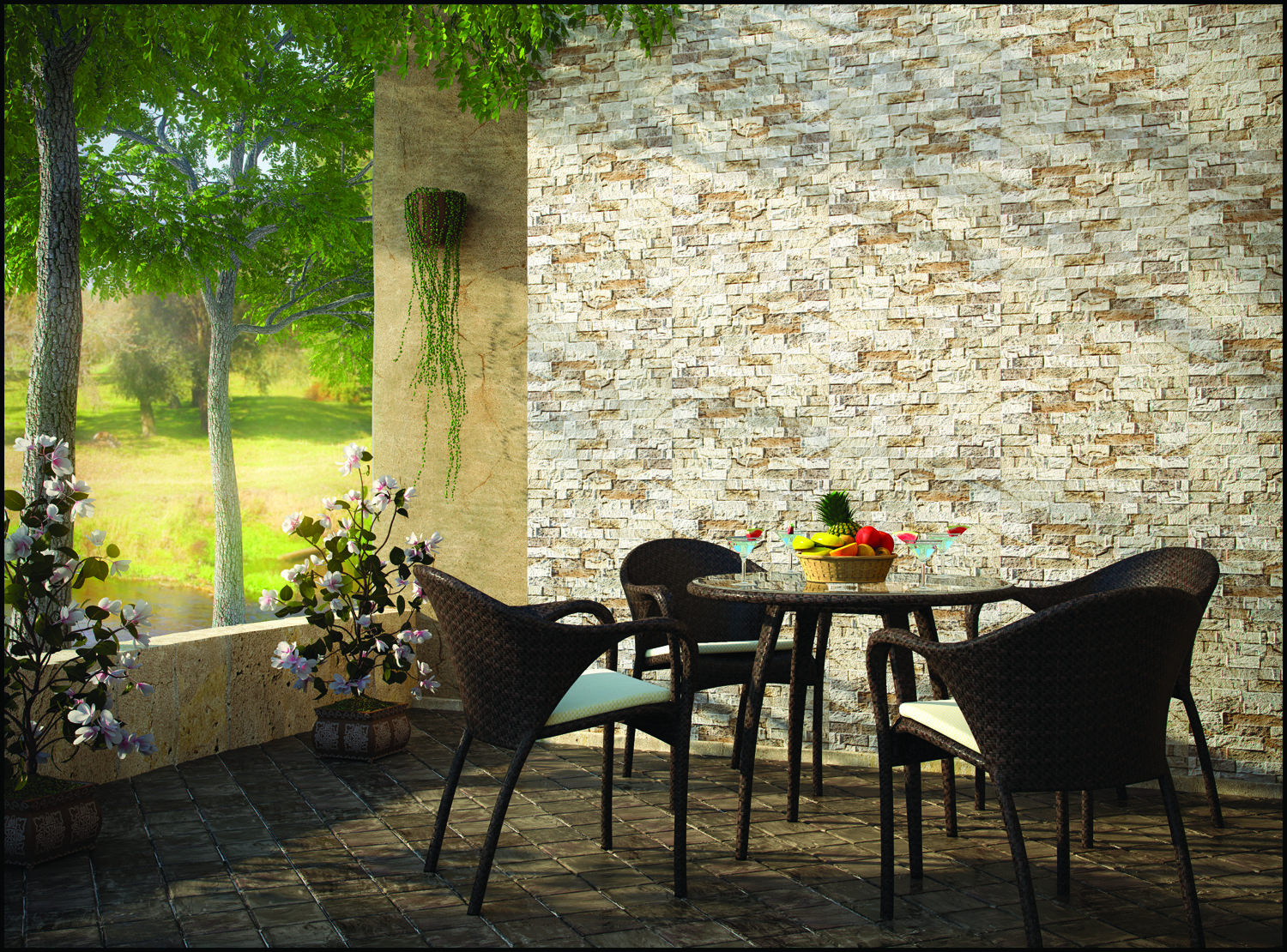 Ryn 25 (Wall Cladding), Size 300x600 mm, For more details click ...
