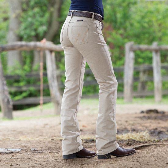 e969a0aa205 Wrangler Q-Baby Tuscan Tan Riding Jean