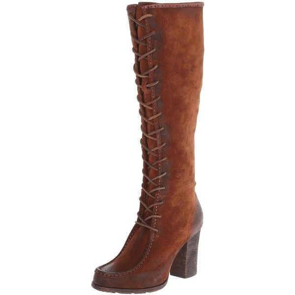 FRYE Women's Parker Moc Tall Riding Boot ($257) ❤ liked on Polyvore  featuring shoes