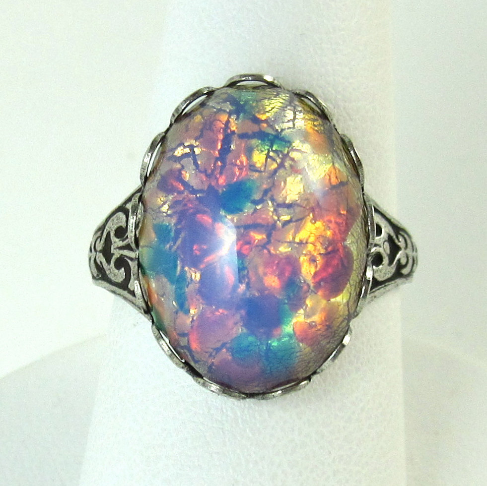· Opal  Wedding Ringsopal