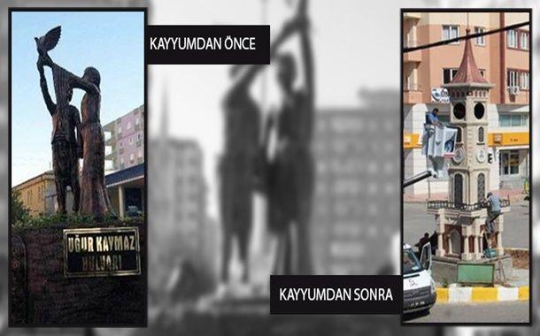 Sendika (.) Org ///  Mithat Sancar, kayyumlar tarafından yıktırılan anıtları meclise taşıdı