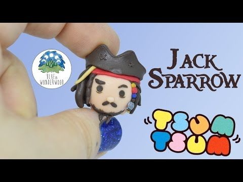 ♥♥♥ READ ME PLEASE ♥♥♥ Hello Wonderwood People! ♥ In today's tutorial we'll se how to make the Jack Sparrow Tsum Tsum ♥ ❥ Share your re-creations with me usi...