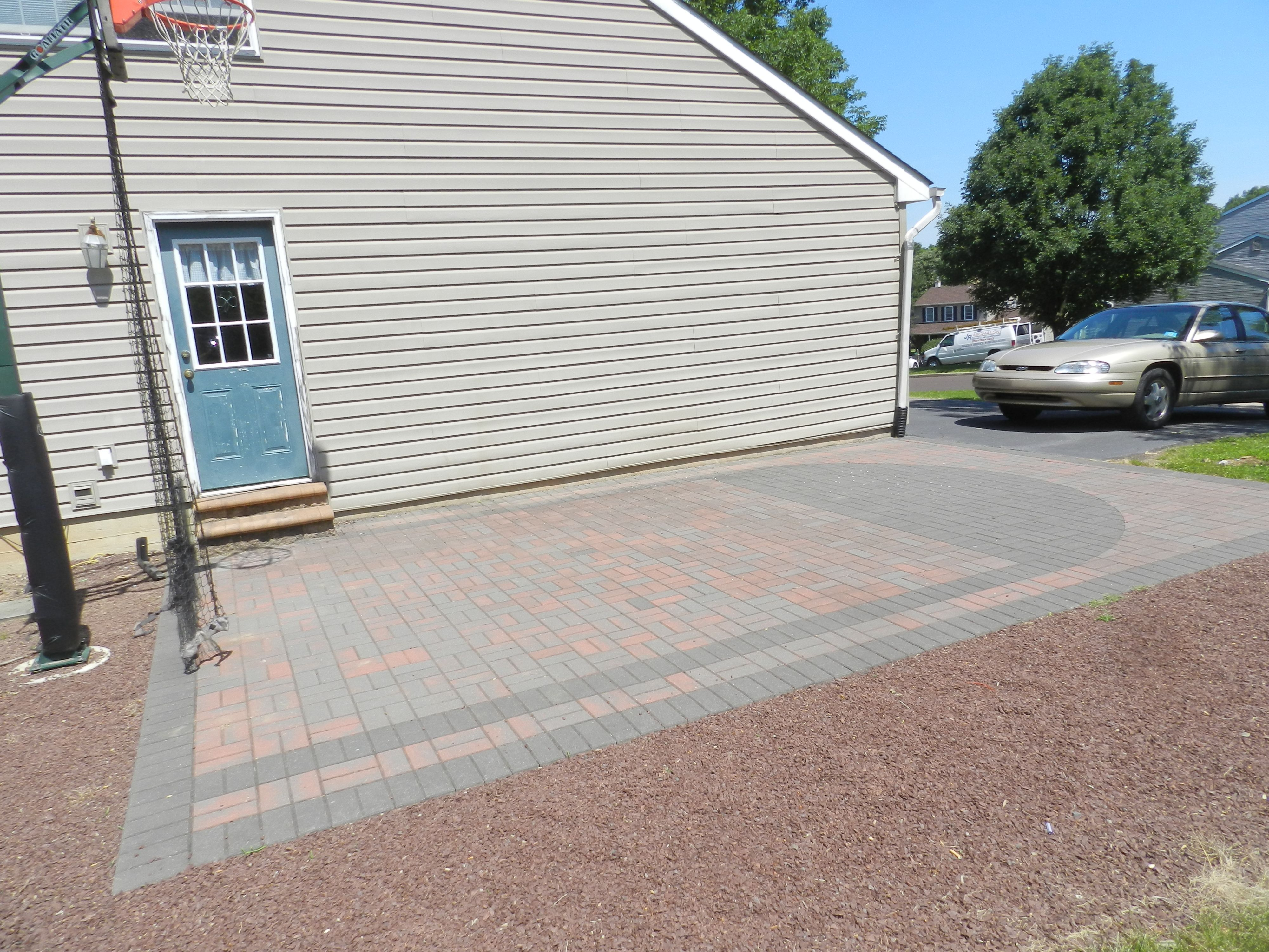 Pavers are so easy to design with - have many colors and shapes to ...