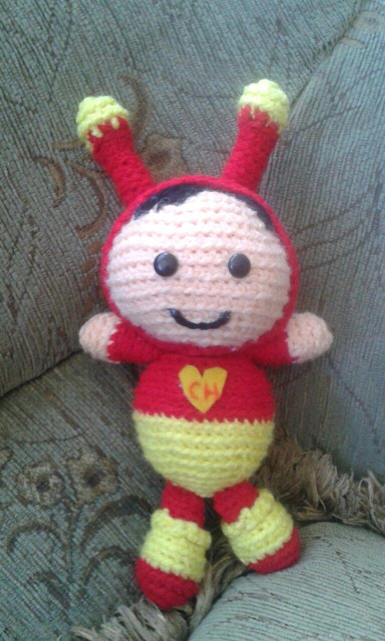 Chapulin Colorado #amigurumi #amigurumis #muñecostejidos #crochet #lana #tejido #tejiendo #tejidoamano #tejidocrochet #tejidos #lana #chapulin #chapulincolorado #muñecostejidosjoni #hechoamano #Ecuador #Quito