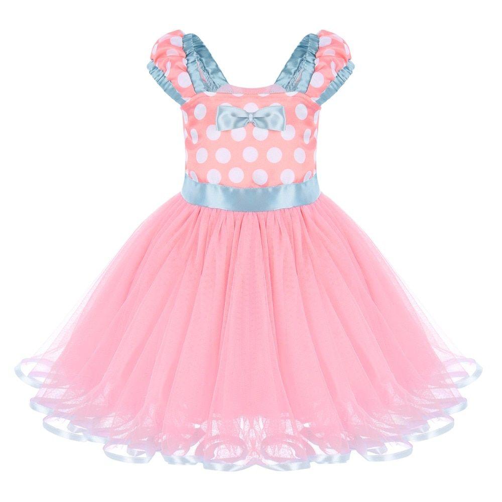 1c3020eb0b2e Cute  Minnie Kids  Baby Girls Casual Birthday Party Ball  Gown Tutu ...