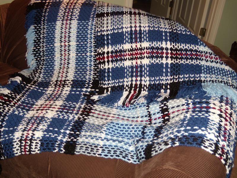 crochet tartan----beautiful! | arts n crafts | Pinterest | Gehäkelte ...