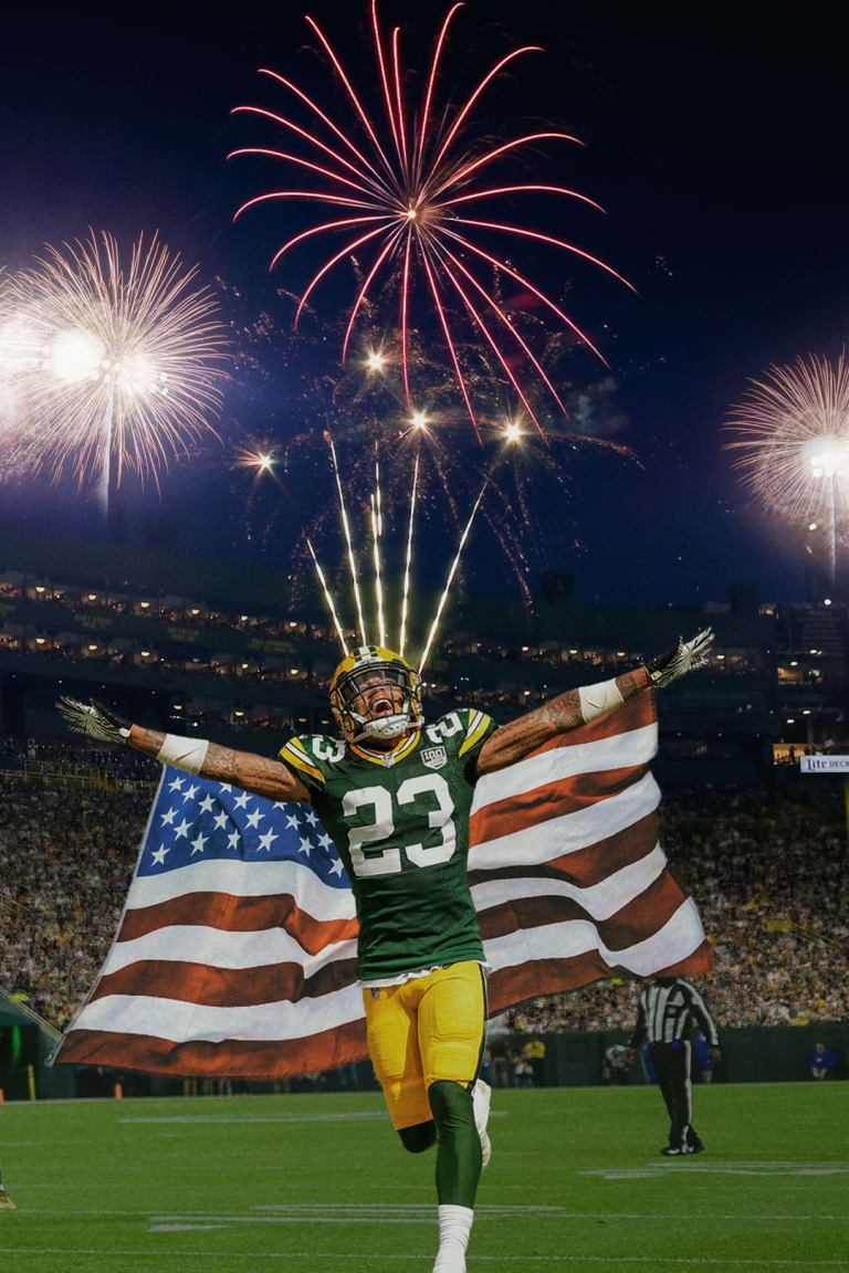 Jaire Alexander Green Bay Packers Art Green Bay Packers Crafts Green Bay Packers
