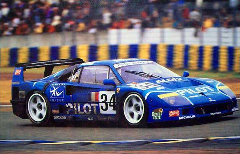 1995 Ferrari F40 Gte Lm Ferrari 2998 Cc T Michel Fert Olivier
