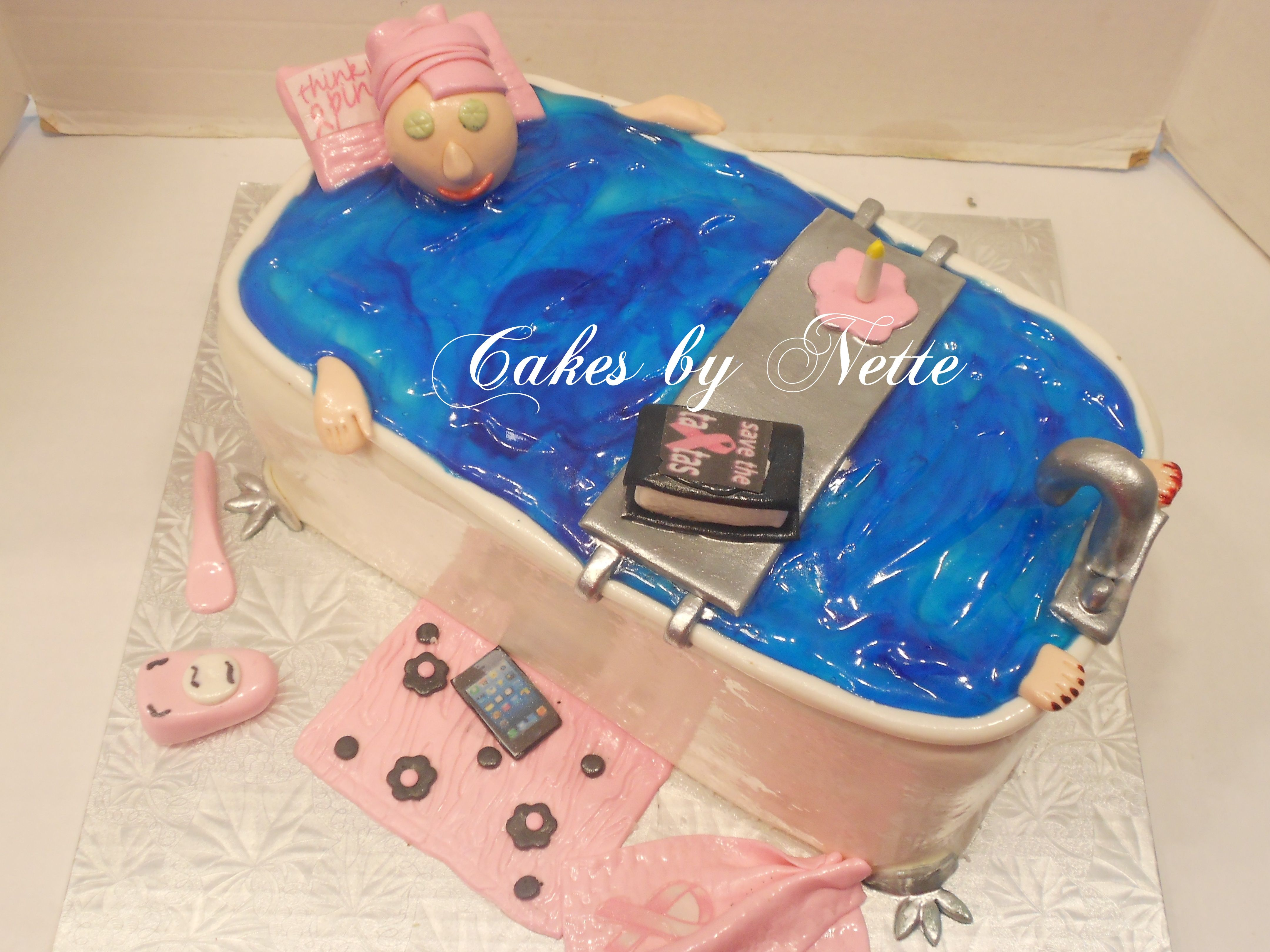 Pamper Me Spa Themed Cake Cakes By Nette St LouisMO Women