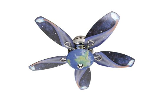 Hunter Space Discovery 48 In Brushed Nickel Ceiling Fan