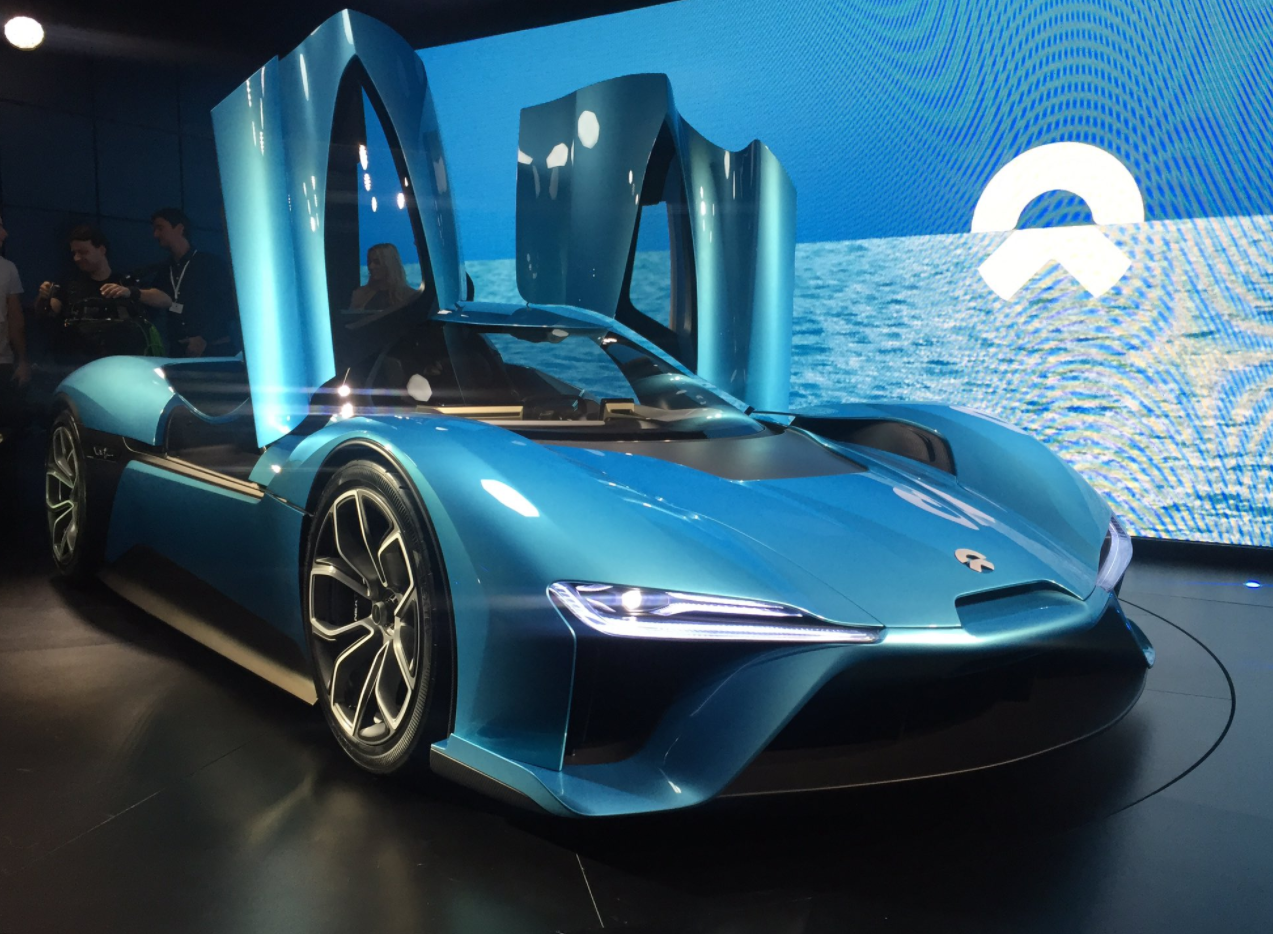 Nextev Reveals The Nio Ep9 Supercar Fastest Ev In The World Super Cars Sports Cars Luxury Amazing Cars