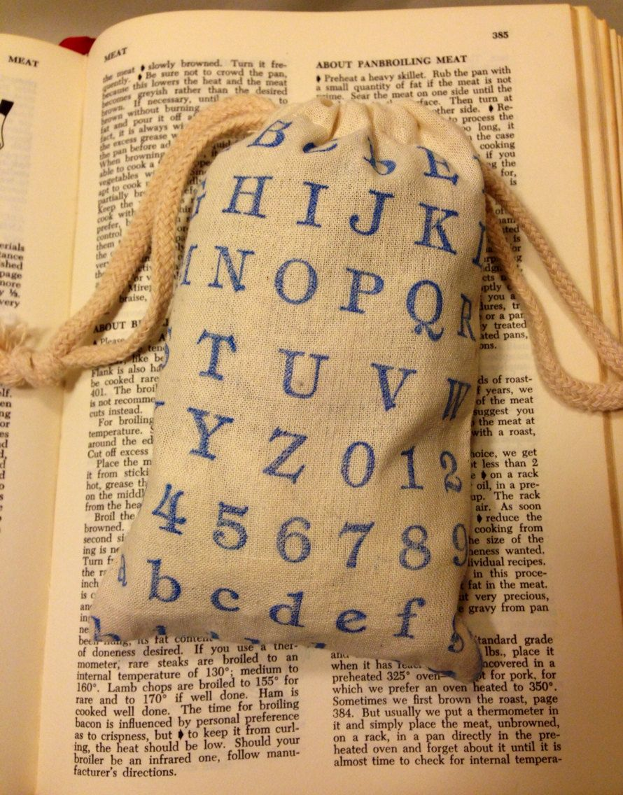 Literary Wedding Or Baby Shower Favor Gift Bags Library Book