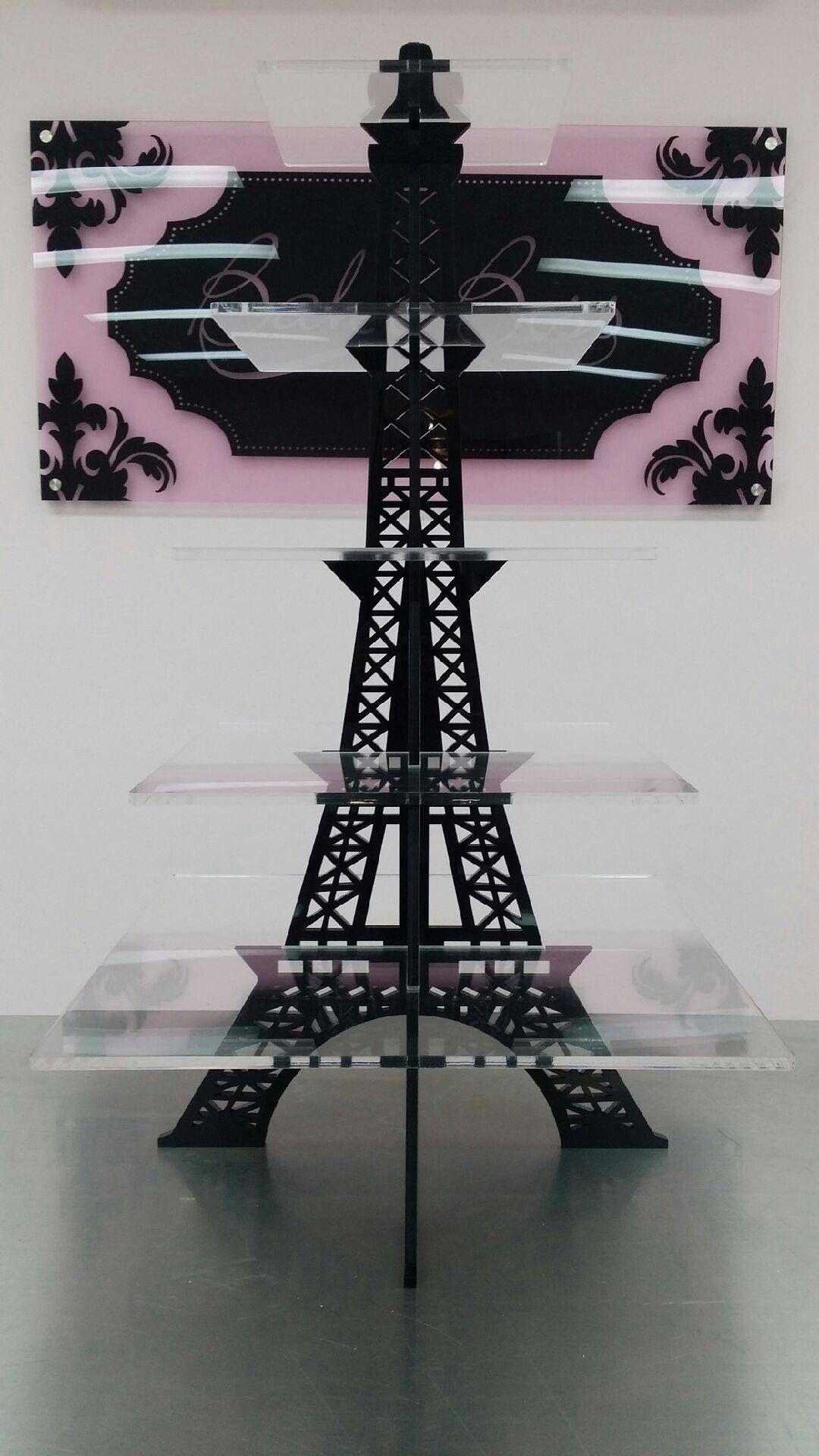 Eiffel Tower Cupcake Stand Eiffel Tower Wedding Party
