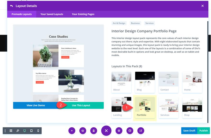 How To Vertically Align Content In Divi Interior Design Layout Tool Design Business Design