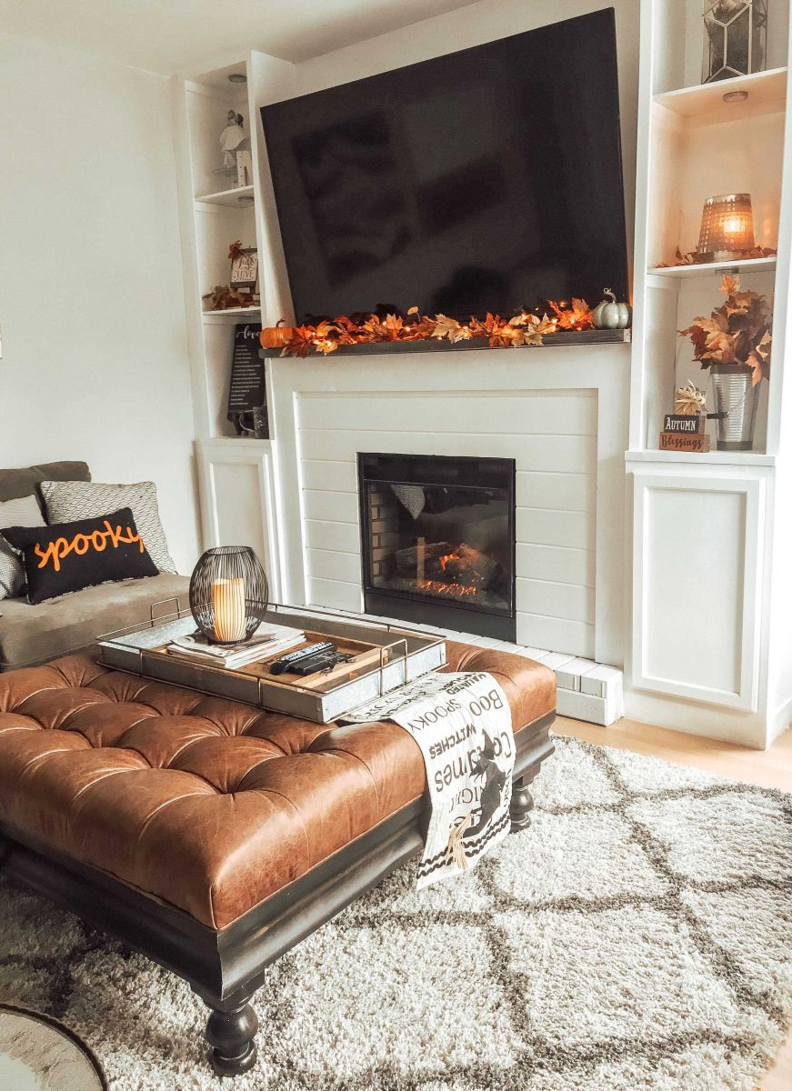 Fall Autumn Decorations Mantel Decor Ideas
