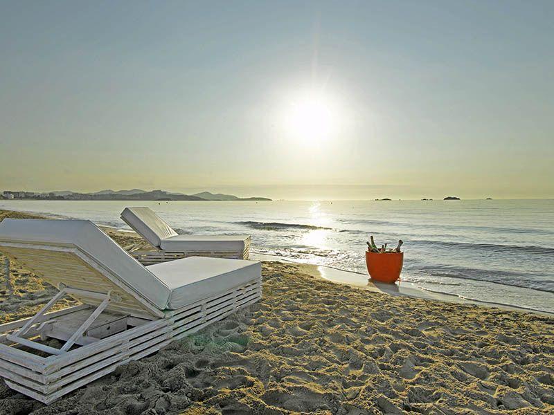 Private Beaches In 5 Star Ibiza Hotels