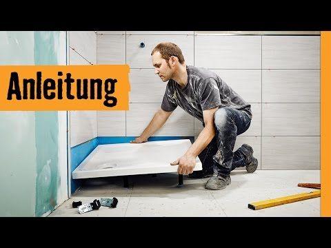 Extraflache Duschwanne Schulte D212057 100x100x4 Cm Weiss Inkl
