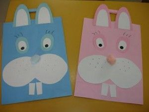 Free easter bunny craft idea for kids moadom