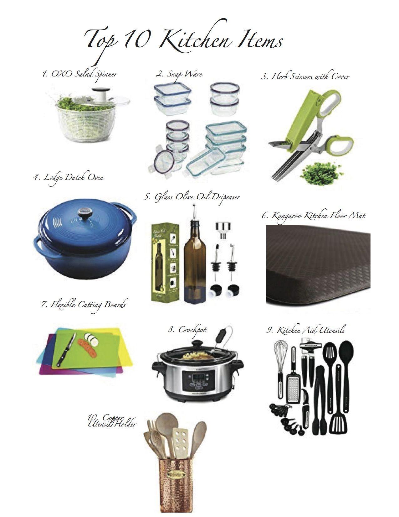 Top 10 Amazon Kitchen Items My Hint On Life Kitchen Items