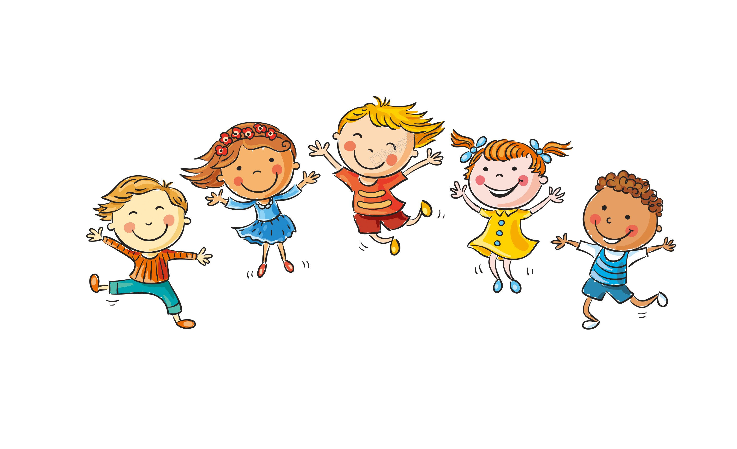 Hand Draw Cartoon Children Decoration Vector Png กรอบ