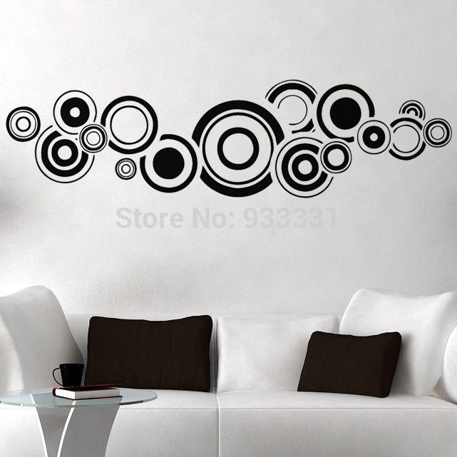 Dise os con circulos para paredes buscar con google for Diseno de paredes con cuadros