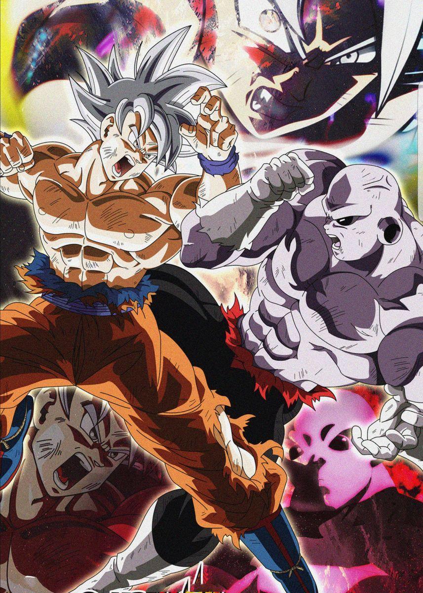 Goku Vs Jiren Dragon Ball Anime Dragon Ball Super Dragon Ball Artwork Anime Dragon Ball