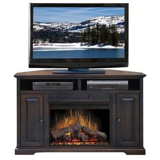 Corner Electric Fireplace and Media Stand from Meijer | For the ...
