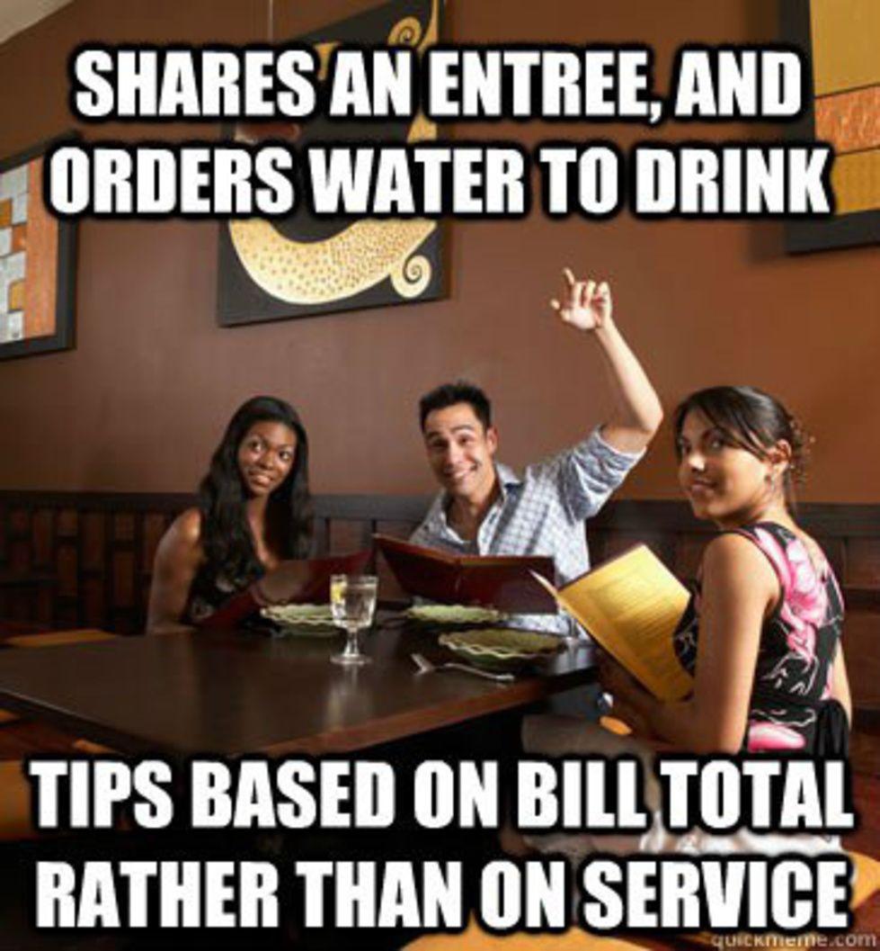 30 Things Restaurant Staff Wish Patrons Knew Told In Memes Server Life Server Humor Restaurant Humor