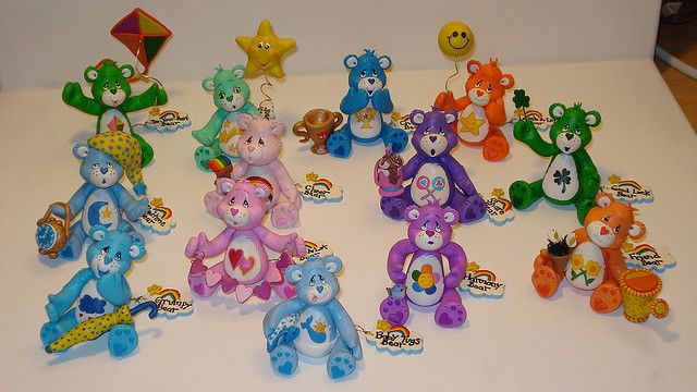 Care Bears by Betty Escobar