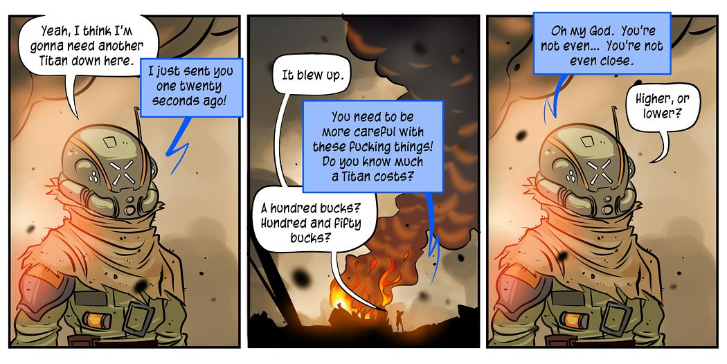 Titans Cost Way More Than Youre Life Titanfall Penny Arcade