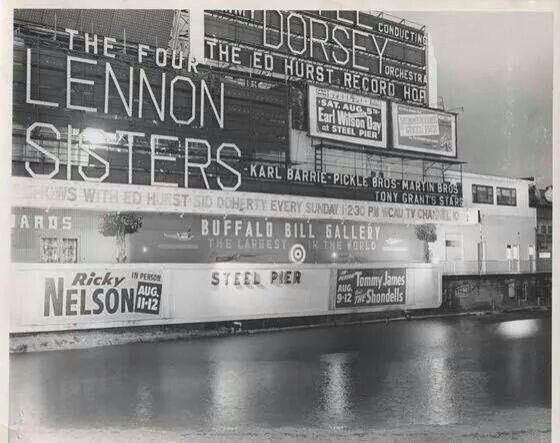 Steel Pier...early 1960's...