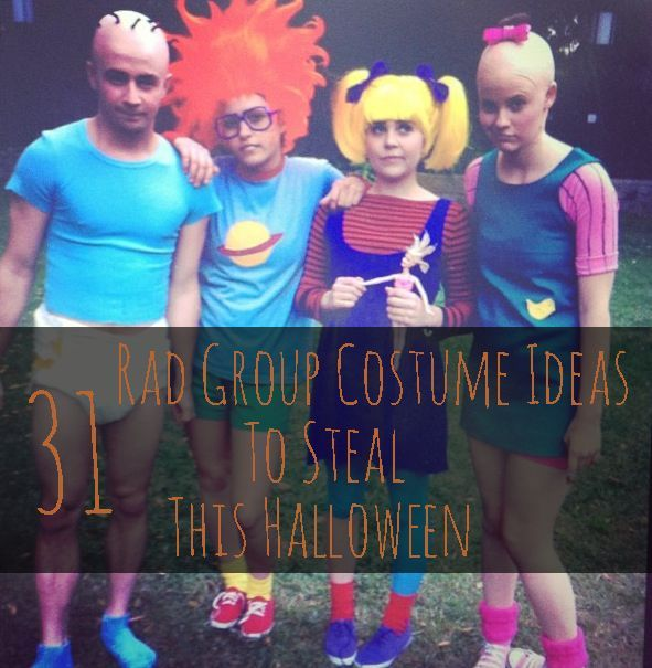 31 Rad Group Costume Ideas To Steal This Halloween Costumes - cool group halloween costume ideas