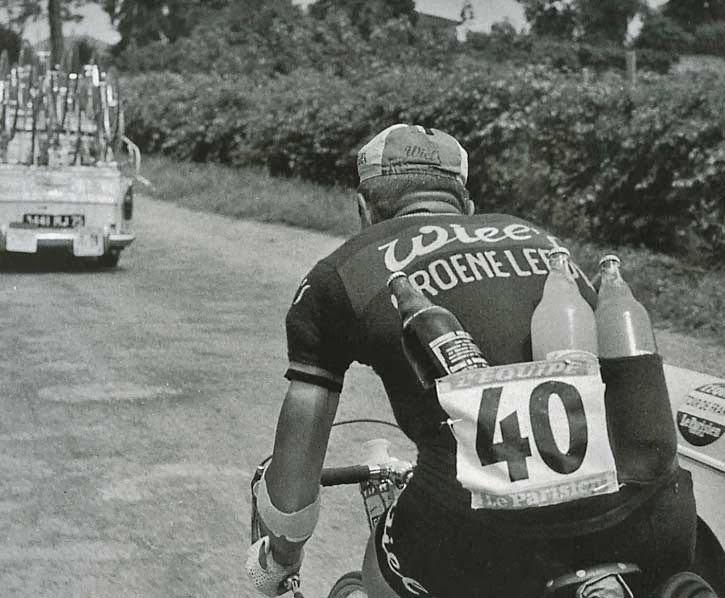 The Water carrier, Rene Van-Meenen, 1963 Tour de France
