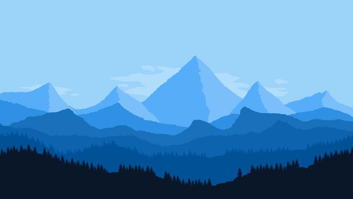 Firewatch Blue Tonal Art Style 1080p Wallpaper In 2020 1080p Wallpaper Art Wallpaper Wallpaper