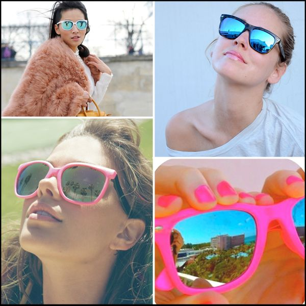 Mirror Sunglasses - Reflective Sunglasses - Chiara Ferragni - LF STORES - WearEverYouAre