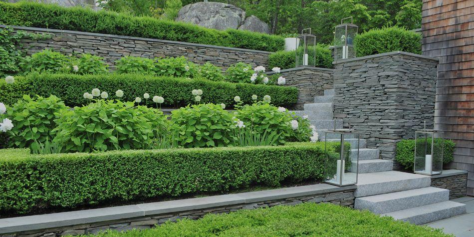 Robin Kramer Garden Design Terrace Garden Design Terrace Garden Sloped Garden