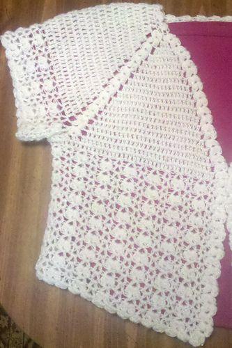 Moxiedox's Lace Crochet Bolero