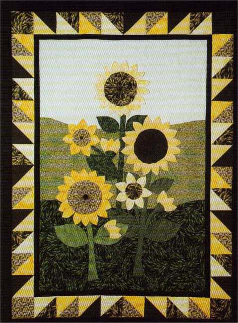 well out myself the finished so s final turned do relatively calling m it sunflower i for here anyway springleaf if fall say quilt sunflowers quilts vincent studios