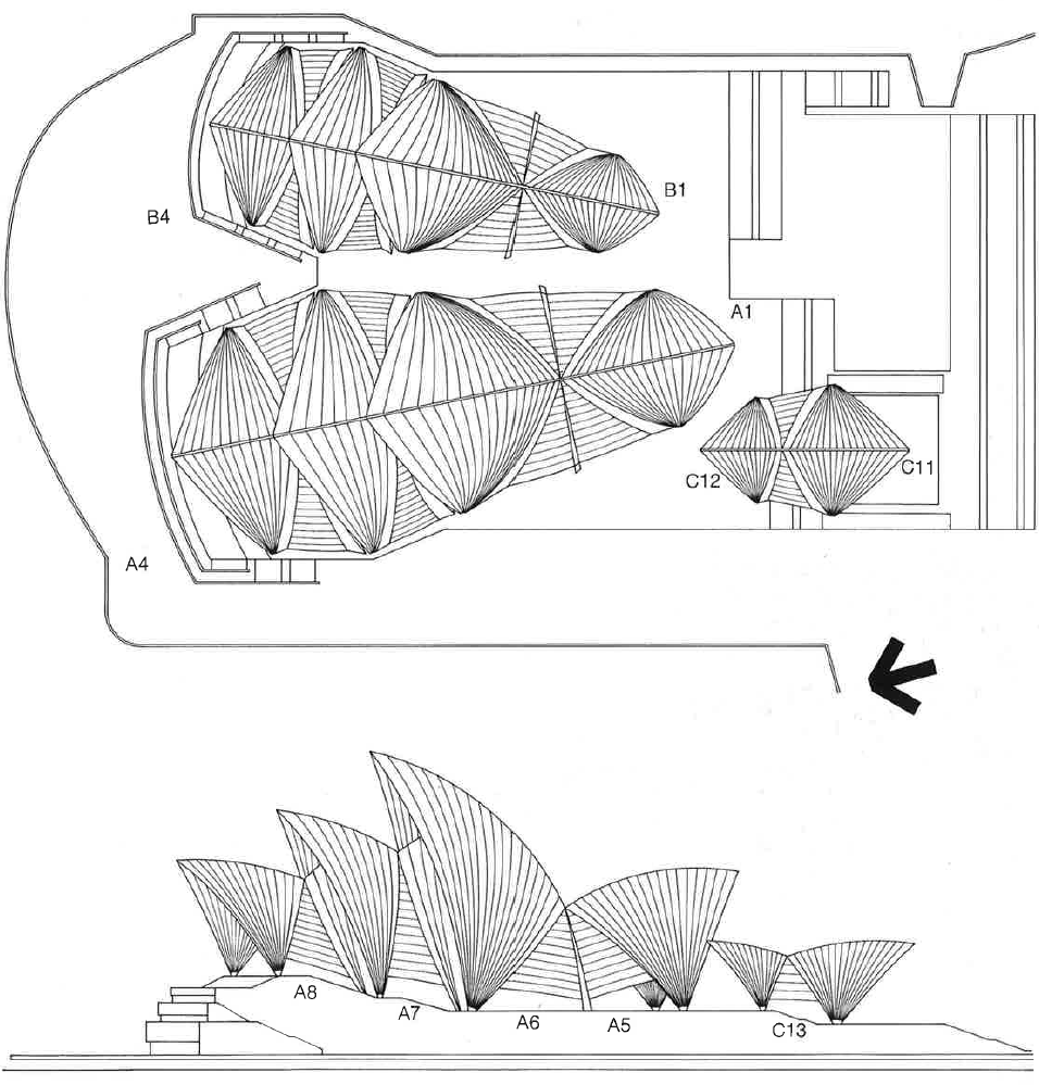 Sydney opera house design process