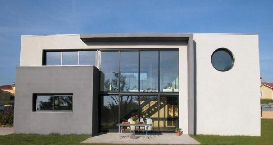 maison-toit-plat-architecte-veyret Maisons architecture