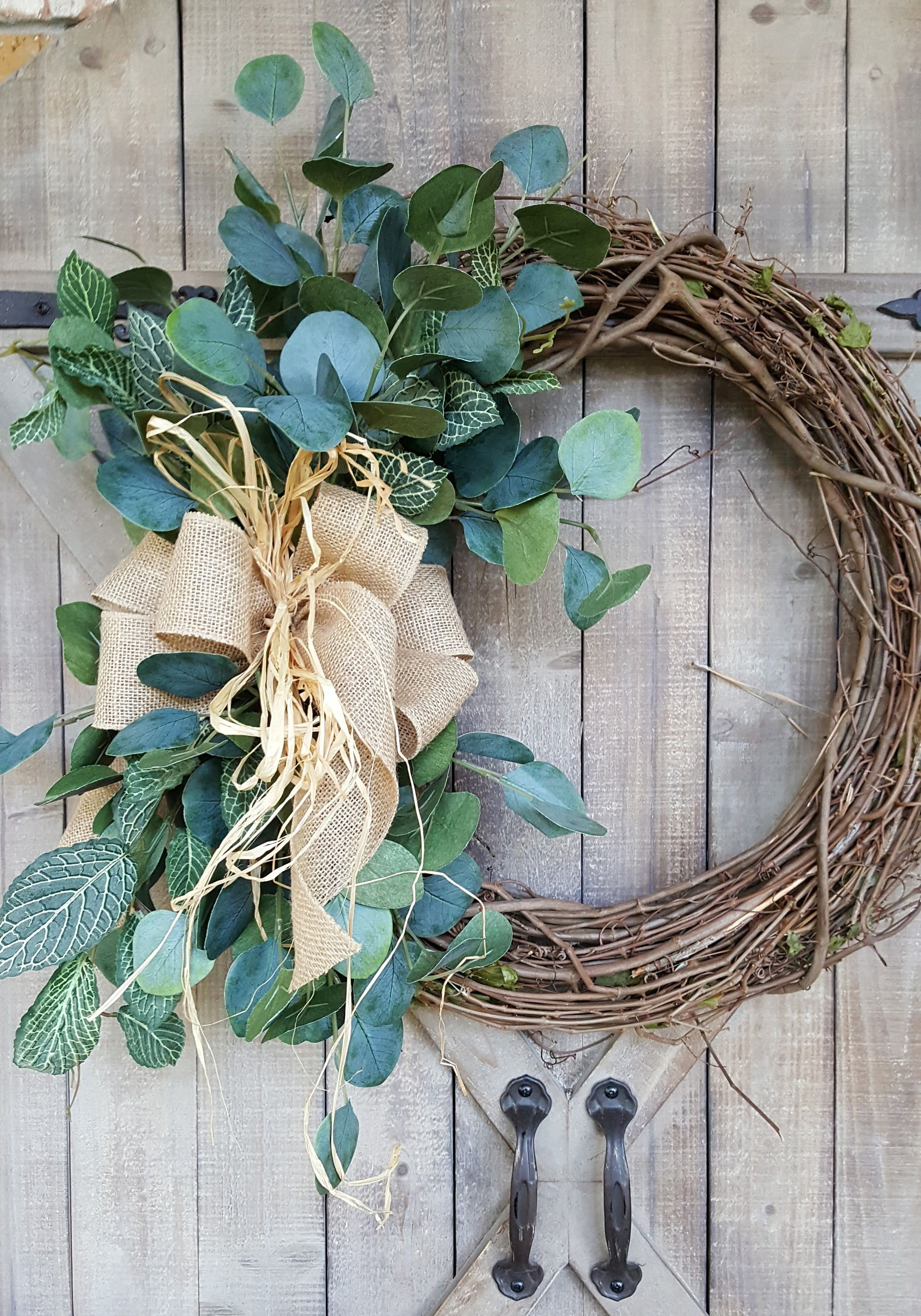 BEST SELLER Front Door Wreath, Greenery Wreath   Wreath Great For All Year  Round