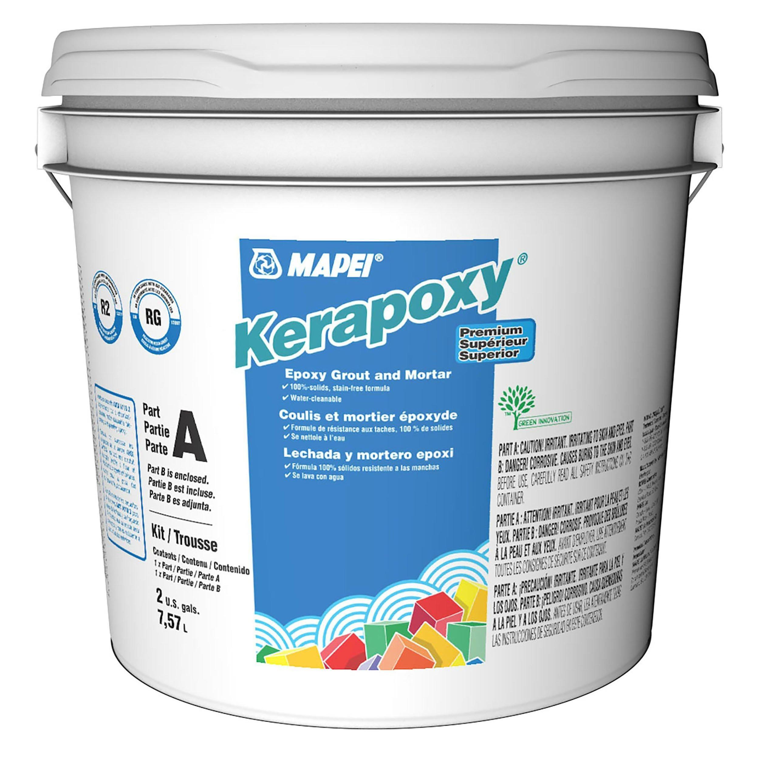 Mapei Kerapoxy Premium Epoxy Mortar And Grout Kit Epoxy Mortar Grout Mapei Kerapoxy