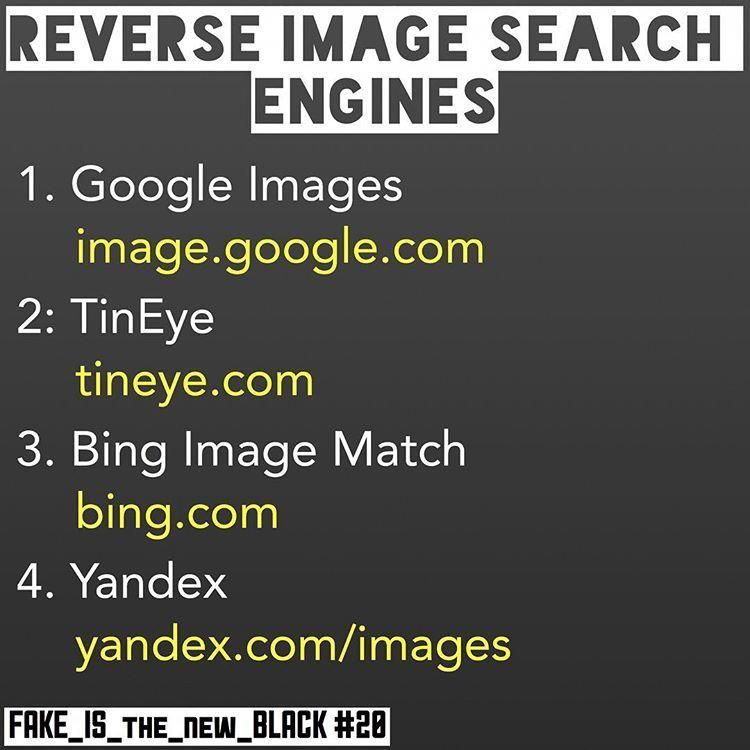 Reverse Image Search Engine Fake Is The New Black Military Love