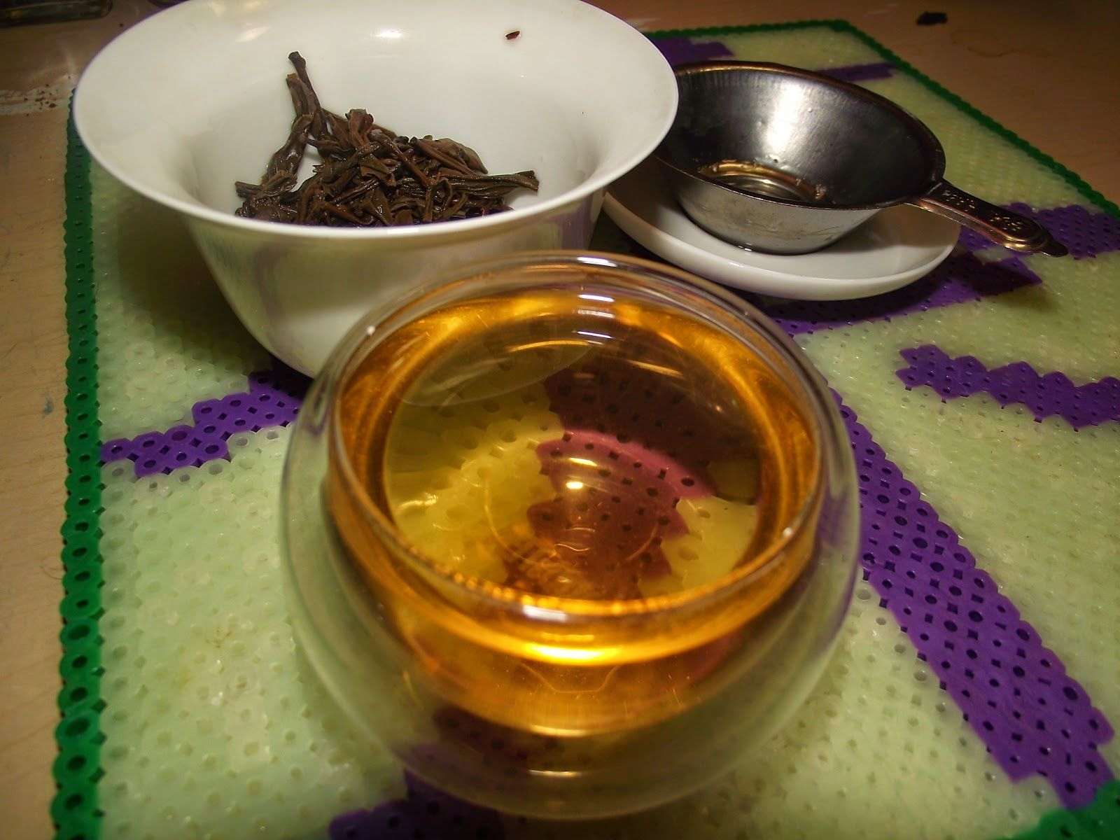 """My Thoughts Are Like Butterflies : Life In Teacup: 2006 Chang Tai """"Seven Star-Alkaid"""" Sheng Pu Erh, A Tea Review"""
