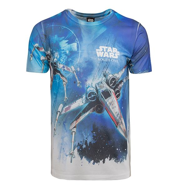 (affiliate link) Star Wars Rogue One: Attack Formation T-shirt