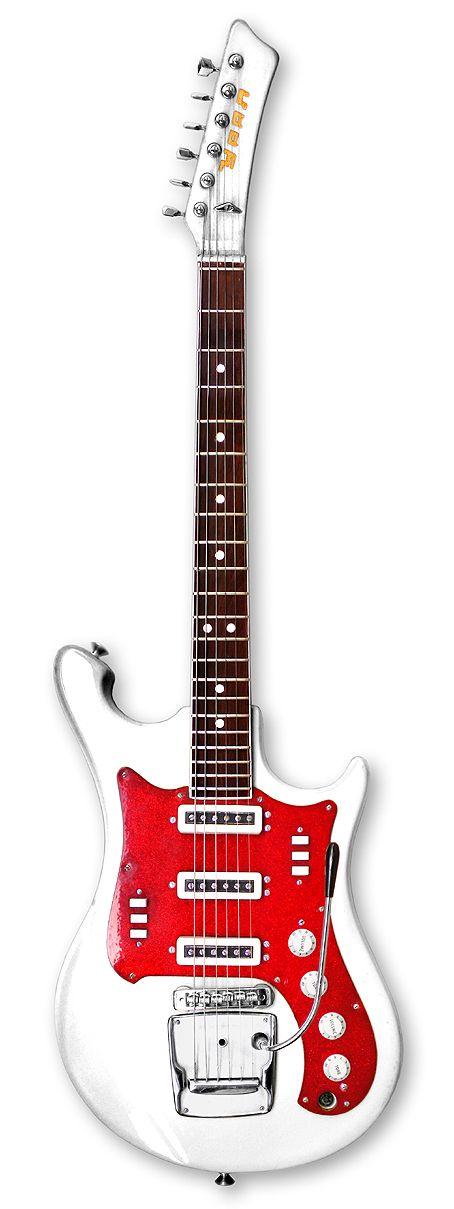 weird soviet guitar. Love it. Электрогитара УРАЛ 650 Hot Rod ...