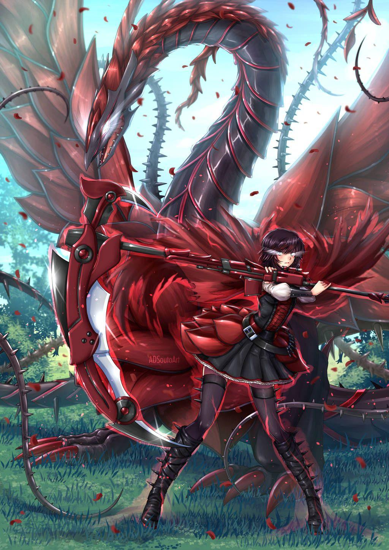 Anime image by LinkSeasonMaster on RWBY Rwby fanart